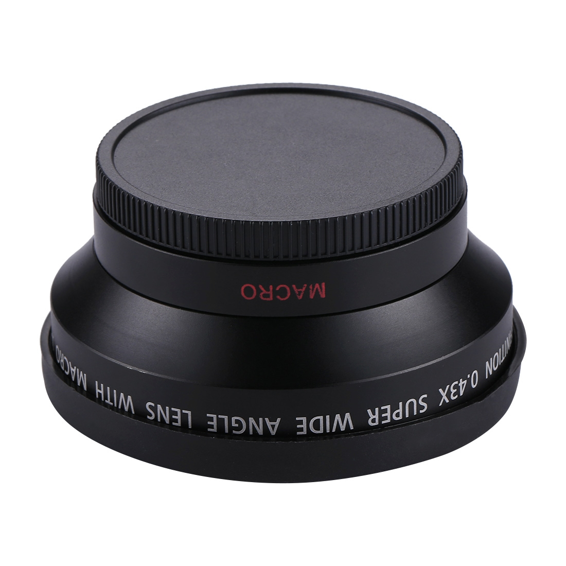 Camera Lens case 62mm 0.45X Super Wide Angle Lens with Macro Lens for Sports Camera